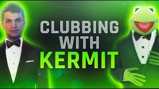 PARTYING WITH KERMIT IN VR CHAT