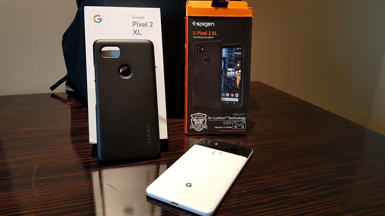 los angeles 1c433 b9e76 Spigen Thin Fit Case for Google Pixel 2 XL