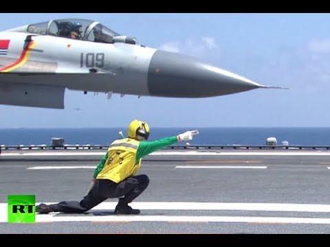 RAW: China holds naval drills