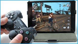 Jouer sur iOS avec une manette Dualshock de PS4 ou PS3 !