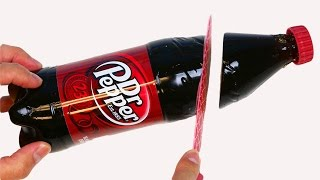 How to Make GUMMY DR. PEPPER Soda Bottle Fun & Easy DIY Cutting Jelly Gummy Bottle!
