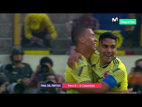 Perú vs. Colombia 0-3| RESUMEN y GOLES del partido amistoso internacional