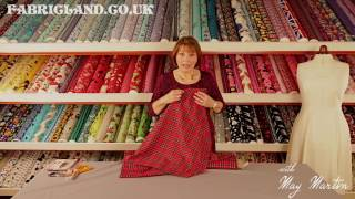May Martin introduces us to Tartan Suiting with Fabric Land