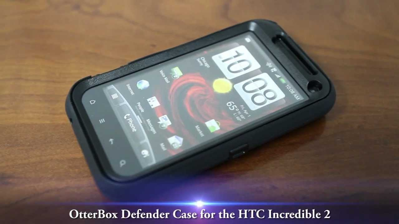new concept c350b d9ae3 OtterBox Defender Case for the HTC Incredible 2