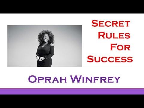 Oprah Winfrey's Top 3 Rules for Success