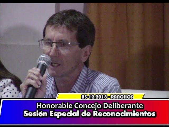 Honorable Concejo Deliberante -  Sesión especial de Reconocimientos