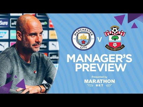 PRESS CONFERENCE | Pep Guardiola | Man City v Southampton