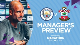 PRESS CONFERENCE | Pep Guardiola | Man City v Southampton