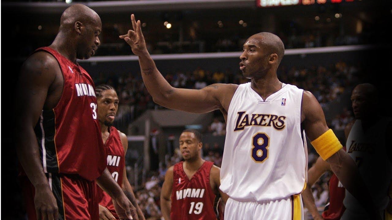 0475aeb87f54 Kobe Bryant vs Shaquille O Neal 1st Meeting X-Mas 2004 - Kobe With ...