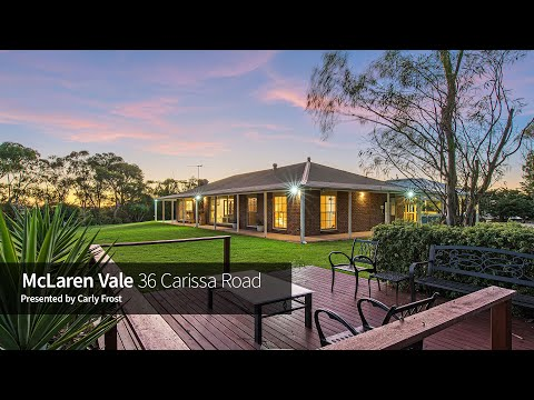 36 Carissa Road, McLaren Vale - The Frost Team