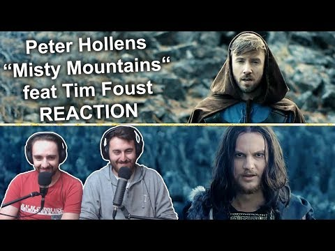 """""""Peter Hollens - Misty Mountains feat. Tim Foust"""" Singers Reaction"""