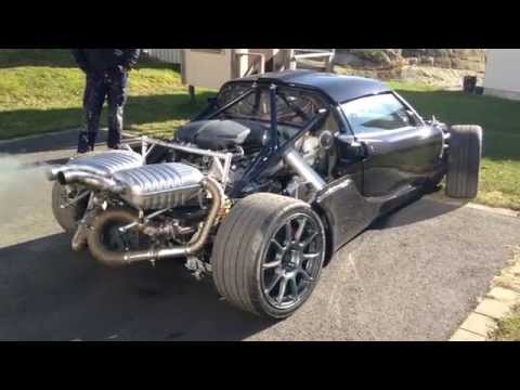 Lotus Exige BMW S85 V10 engine