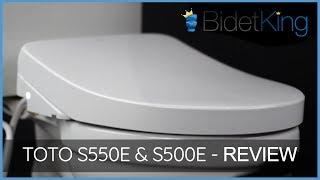 Toto S550e SW3056 & S500e SW3046 Washlets Review | BidetKing.com