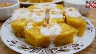 CHUỐI HẤP - Bánh Chuối hấp - Cách làm Bánh Chuối hấp nước Cốt Dừa quá ngon luôn by Vanh Khuyen