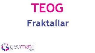 8. Sınıf Fraktal (TEOG) - Konu Anlatımı ve Soru Çözümleri
