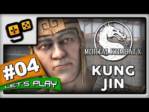 Let's Play:Mortal Kombat X - Parte 4 - Kung Jin