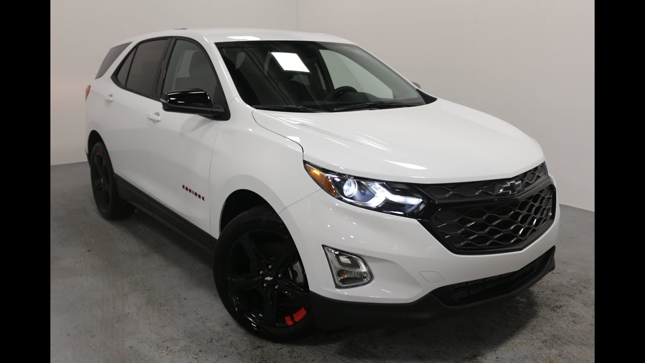 2018 Chevrolet Equinox LT Redline AWD - YouTube