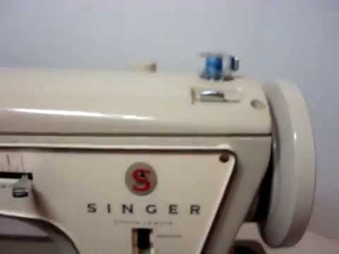 Overview Of Singer Sewing Machine Model 40 YouTube Custom How To Thread A Singer Sewing Machine Model 237