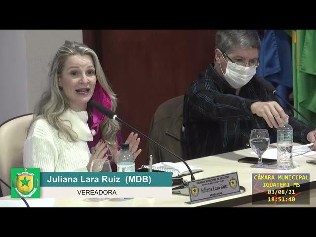 Cópia de Transmissão ao vivo Câmara Municipal de Iguatemi/MS