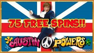 ** JACKPOT or NOTHING!! **Austin Powers Slot