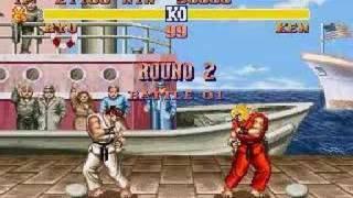 Вуличний боєць 2 на SNES Рю проти Кена