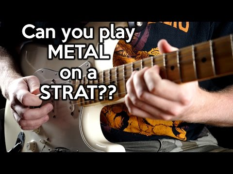 Can you play METAL on a STRAT?   | SpectreSoundStudios