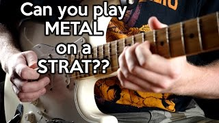 Can you play METAL on a STRAT?   | SpectreSoundStudios Video