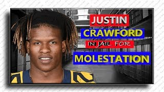 Ex-NFL player Justin Crawford caught Mọlẹstỉng 12-year-old girl!