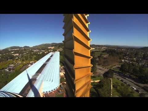 Marin County Civic Center - Aerial Tour