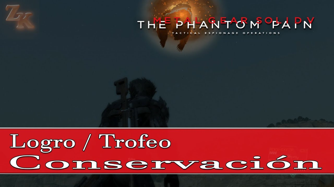 Metal Gear Solid V: The Phantom Pain - Guía de Animales - Logro / Trofeo  Conservación (Conservation)