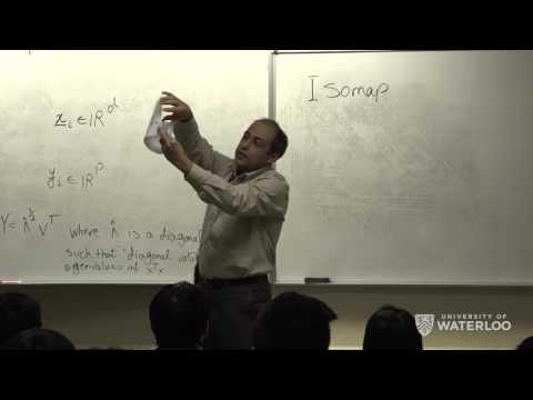 Ali Ghodsi, Lec 4: MDS, Isomap, LLE