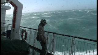 New Zealand Ferry Rough Crossing.mov