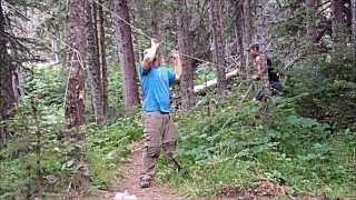 80 Mile Backpacking Trip: GLACIER NATIONAL PARK 2013
