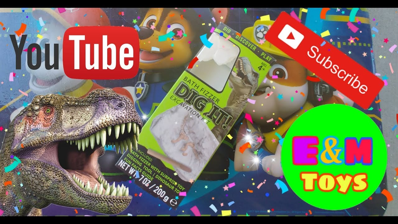 DINOSAUR DIG EXCAVATION KIT #Dinosaur #Bath #Fizz #Excavation #Kids #Play  #Toys