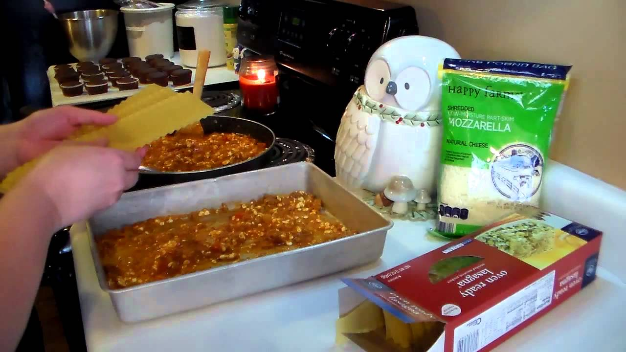 Lasagna With Oven Ready Noodles
