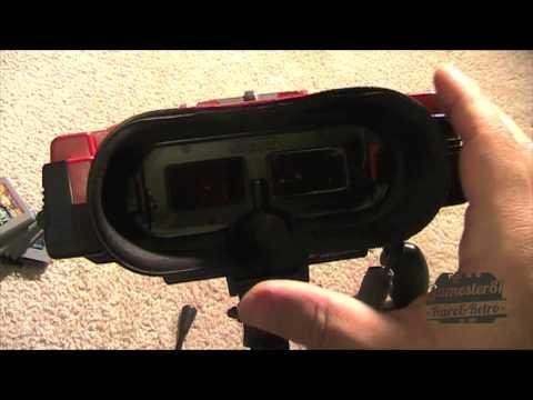 Nintendo Virtual Boy Review - Gamester81