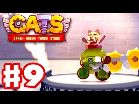CATS: Crash Arena Turbo Stars - Gameplay Walkthrough Part 9 - 50+ Victory Streak! (iOS)