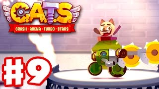 CATS: Crash Arena Turbo Stars - Gameplay Walkthrough Part 9 - 50+ Victory Streak! (iOS)