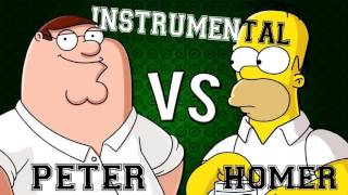Homer Vs Peter RAP l Zarcort Instrumental l  HD