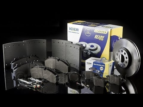 ICER - тормозные колодки и диски из Испании