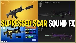 Fortnite : LEAKED SILENCED SCAR SOUND FX ! Aperçu précoce