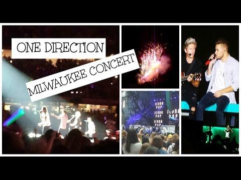 One Direction OTRA Tour Milwaukee, WI w/ Icona Pop // 8.25.15