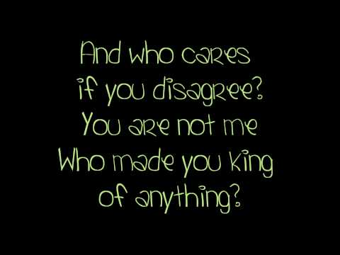 King of Anything - Sara Bareilles (with lyrics)