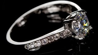 Luxus Rot Kristall Zirkonia Verlobung Ringe mit Gold Farbe Intarsie Damen cRUWK