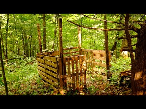 how to build a deer stand out of pallets 3