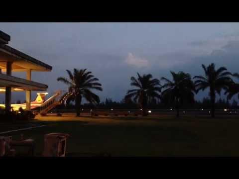 สายการบิน นกแอร์มินิ สนามบินชุมพร ซูมแบบเห็นๆ