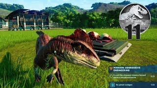 Jurassic World Evolution - Part 11 - New CUSTOM Dinosaur!