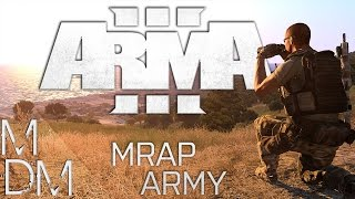 Arma 3: Attack of the MRAP Army - Arma 3 Multiplayer Co-op Mission Gameplay