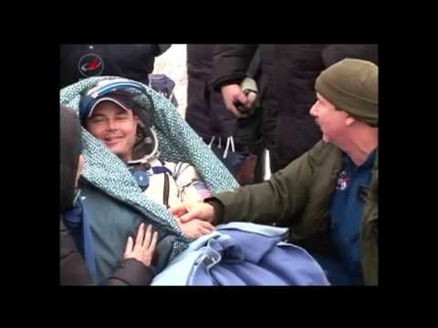 International Space Station Expedition 41 Astronaut Crew Lands Safely in Kazakhstan