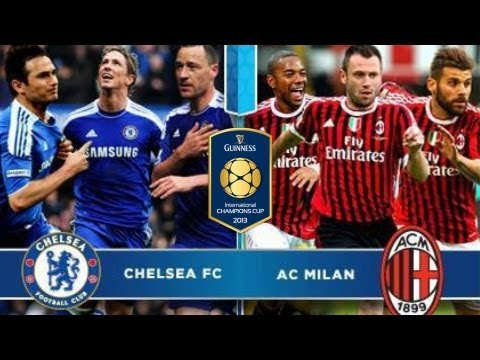 Chelsea FC vs AC Milan 2-0 all goals and highlights 05/08/2013 International Champions Cup 2013